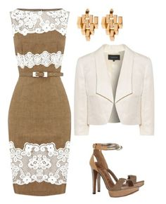 """Perfect classic outfit - wonder if I could make this a bit more """"me"""" for the wedding??? Too cute."""