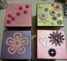 Decorating Boxes With Paper Jewellery Box Decorate box Box and Shoebox ideas 2