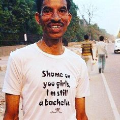Where the #singleladies at? My uncle is looking for a wife :). Ha ha.  #funnypics #singlemen #desimen #desibachelor #bebrown #funnypics #thepind brownmanclothing.com