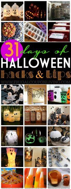 100 Cheap and Easy Halloween Decor DIY Ideas Haloween Pinterest - halloween diy ideas