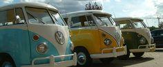 VW Kombi Bus T1 Colors