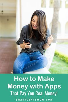 Want an easy way to earn extra money? We've got the best apps that pay you real money to help you upgrade your wallet! Make Easy Money Online, Make Real Money, Earn Money From Home, Earn Extra Cash, Making Extra Cash, Extra Money, Online Side Jobs, Best Online Jobs, Apps That Pay You