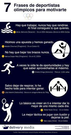 7 frases de deportistas olímpicos españoles sobre Motivación