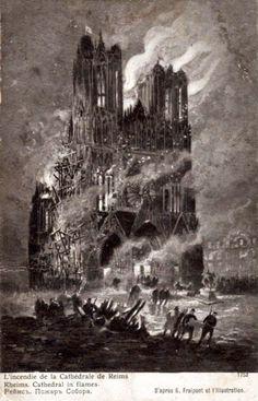 Amicarte 51 Reims: Reims 14-18... En bonne senter...