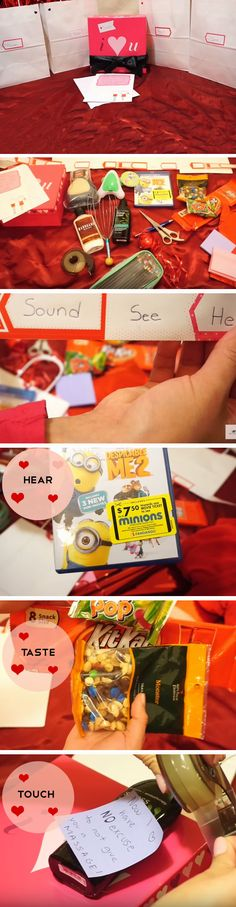 5 Senses | 23 DIY Valentines Crafts for Boyfriend