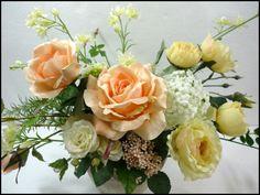 造花*アレンジメント:アートフラワーアレンジメント:【アートフラワー四季】(造花、アートフラワー)