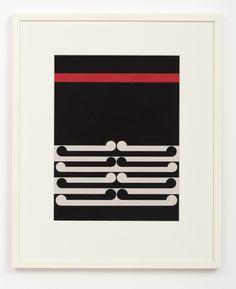 Gordon Walter, Untitled, 1978. Acrylic on paper.