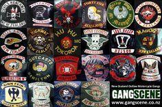 https://flic.kr/p/79uk2N   NZ motorbike gang patches   From www.gangscene.co.nz