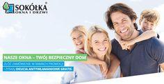 Chcesz zwiększyć bezpieczeństwo swojego domu? Skorzystaj z naszej PROMOCJI❗ Zamów u nas wybrane okna drewniane lub drewniano-aluminiowe, a otrzymasz w pakiecie OKUCIA ANTYWŁAMANIOWE i klamkę z kluczykiem GRATIS. 👉 http://sokolka.com.pl/promo/nasze-okna-bezpieczny-dom/index.html 👈