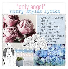 """☼; only angel lyrics // natalie"" by ocean-clique-xo ❤ liked on Polyvore featuring art and bedroom"