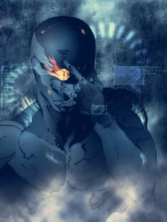 "Cyborg Ninja from Konami's ""Metal Gear Solid"""
