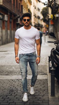 5 simple casual outfits for men in 2019 men's street style мужской Simple Casual Outfits, Stylish Mens Outfits, Casual Outfit For Men, Casual Suit, Casual Blazer, Work Casual, Smart Casual, Casual Shoes, Mens Fashion Blog