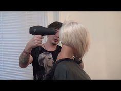 Урок для парикмахеров. Мастер-класс по стрижке боб каре. Артем Любимов. Прическа каре. Волосы. - YouTube