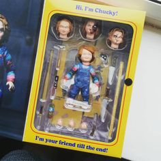 """-----""""you just cant keep a good guy down""""----- . . . . . .  #neca #chucky #childsplay #horror #horrormovies #toys #figure #horrorfigures #toycollector #figures #popfigure #likes #like4like #follow4follow #follow #followforfollow #likeforlike #toys #collectible #funkocollector #instagamer #gamer #games #gaming #l4l #f4f #l4f #ps4 #playstation #xbox        Horror Freddy Kruegar Michael Myers Jason Halloween Friday the 13th Nightmare On Elm Street Leatherface Texas Chainsaw Massacre Scary Movie…"""