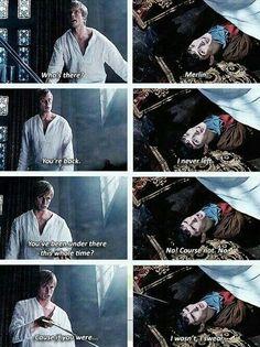 I love Merlin :)