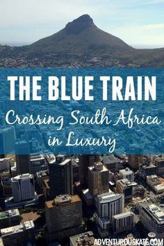 Interesting read: Of all overland journeys, I'm not sure anything can top my experience in South Africa: riding from Pretoria to Cape Town on the Blue Train. Read about my experience on this fancy luxury train! Africa Destinations, Travel Destinations, Safari Holidays, Blue Train, Luxury Travel, Luxury Hotels, African Countries, Africa Travel, Train Travel