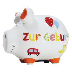 Sparschwein Zur Geburt - KCG #piggy #piggybanks #coin  #banks #money #boxes