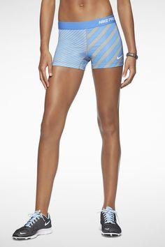 Nike Pro Essential Printed 2.5' Shorts. #train #shorts