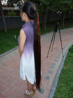 long hair by 戈壁落日, via Flickr