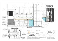 Interior Presentation, Autocad, Floor Plans, Layout, Studio, Page Layout, Studios, Floor Plan Drawing, House Floor Plans
