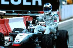 Mercedes Benz McLaren F1 team - David Coulthard and Mika Hakkinen - Spain 2001.