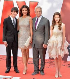 ** DRESS OR TOP INSPIRATION FOR LILY!! **   -- Michael Douglas & Catherine Zeta-Jones w/ Children, Dylan & Carys at the Ant Man Premiere in London on July 8   -- CHECK--OUT Daughters (Carys) Dress!!... SUPER CUTE!... There are 4 or 5 Add'l Photo's Posted Onsite (Close-up & Alt. View) = http://www.dailymail.co.uk/tvshowbiz/article-3160699/Michael-Douglas-talks-celebrating-15th-anniversary-Catherine-Zeta-Jones.html