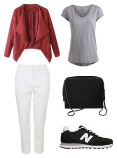 """""""Senza titolo #7"""" by imnotniceatall on Polyvore featuring moda, Topshop, Pieces, New Balance e 3.1 Phillip Lim"""