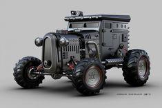 Необыкновенные машины Jomar Machado