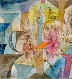 Astrale Automaten, 1918 - Paul Klee Prints - Easyart.com