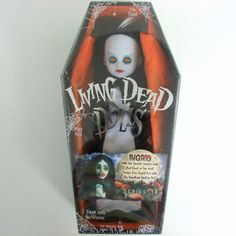 Mezco Toys Ingrid Living Dead Doll Series 18 Halloween #MezcoToyz #DollswithClothingAccessories Living Dead Dolls, Worms, Vintage Dolls, In A Heartbeat, Gifts For Kids, Play, Free Shipping, Halloween, Presents For Kids