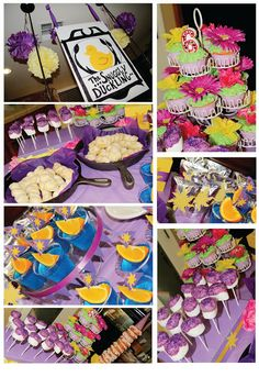 A Bushel and a Peck of FUN: Rapunzel Party Details