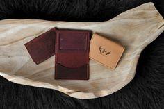 Leather Rambler Wallet / Embossed Antler / Seaside Florida
