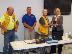Madisonville Lions Club Receives Matching Grant from Lions Clubs International Foundation.