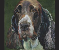 Diana Betteridge - Painter - DOG paintings and drawings