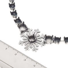 29ss, 39ss Snowflake cup chain Centerpiece for Necklace | Gita Jewelry