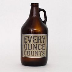 Don't leave home without it!  $5.99  http://www.northernbrewer.com/shop/miscellany/glassware/civilian-brewing-division-growler.html