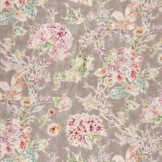 The G2772 Mushroom upholstery fabric by KOVI Fabrics features Floral pattern and Gray, Green as its colors. It is a Made in USA, Print, Linen type of upholstery fabric and it is made of 55% Linen, 45% Rayon material. It is rated Exceeds 15,000 double rubs (heavy duty) which makes this upholstery fabric ideal for residential, commercial and hospitality upholstery projects.For help please call 800-860-3105.