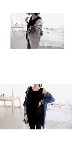 【授乳服/マタニティ】ナーシングモノカラーロングタンクトップ - マタニティウェアと授乳服通販のルクリア【Luculia】