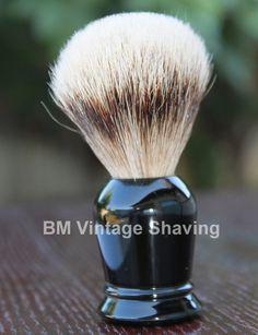 Silvertip Shaving Brush Faux Ebony !  #ShavingRazorsandBrushesCases Shaving Razor, Shaving Brush, Vintage, Vintage Comics