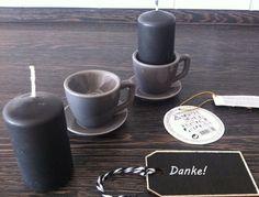 2 KERZENHALTER Tassen Eierbecher Porzellan  Geschenkidee - ohne Kerzen  GRAU in Möbel & Wohnen, Feste & Besondere Anlässe, Jahreszeitliche Dekoration | eBay!