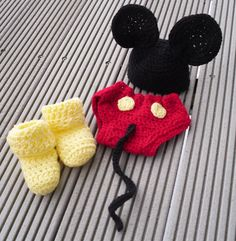 mice, cover set, mickey mous, diapers, babi hat, baby hats, kid stuff, diaper covers, kid korner