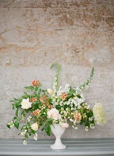 Taylor & Porter Fine Art Film Photography. Elegant English Country Inspiration via Magnolia Rouge. Floral Design by The Garden Gate Flower Company.