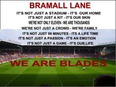 Sheffield United Fc, Bramall Lane, Best Football Team, Famous Quotes, Kids And Parenting, Blade, Birthday Cards, I Am Awesome, Wisdom