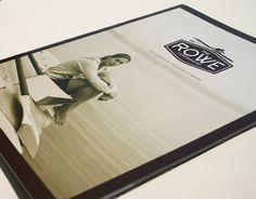 All marketing materials including brochures, the website, signage, the sales office and advertising were designed and produced by 52 Pick-up for The Rowe. #design