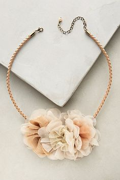 Abloom Collar Necklace #anthropologie
