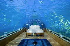 honeymoon suite at the Conrad Maldives Rangali Islands Resort