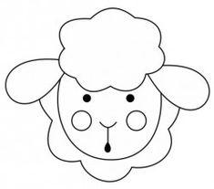 molde ovelha : Revista Artesanato
