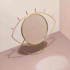 Cyclops Miroir Table