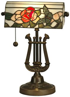 Buy the Dale Tiffany Antique Bronze Direct. Shop for the Dale Tiffany Antique Bronze Victorian 1 Light Broadview Bankers Desk Lamp with Art Glass Shade and save. Louis Comfort Tiffany, Light Table, Lamp Light, Light Art, Bankers Desk Lamp, Art Nouveau, Art Deco, Piano Lamps, Stained Glass Lamps