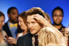 """Chris Pratt attends """"The Magnificent Seven"""" Premiere during the 2016 Toronto International Film Festival at TIFF Bell Lightbox on September 8, 2016 in Toronto, Canada."""